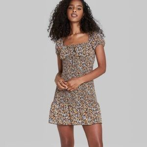 Wild Fable Floral Smock Dress